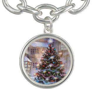 De Wijnoogst van de kerstboom Bedel Armbandjes