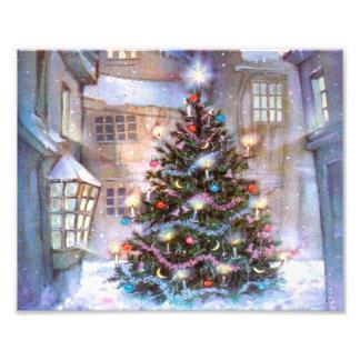 De Wijnoogst van de kerstboom Foto Kunst