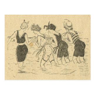 De Wijnoogst van de replica, de partij van het Briefkaart