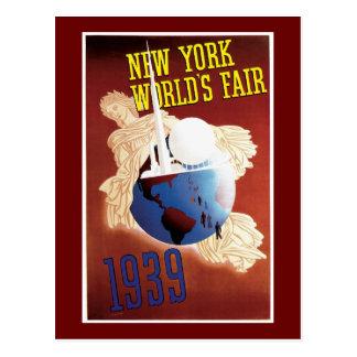 De Wijnoogst van de Wereld van New York van Briefkaart