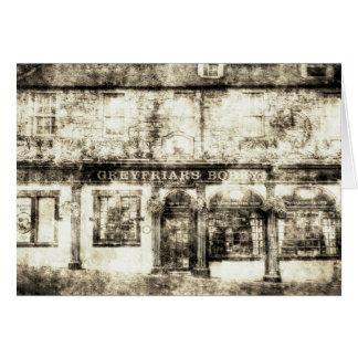 De Wijnoogst van Edinburgh van de Bar van Bobby Kaart