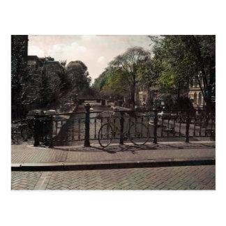 De Wijnoogst van het Kanaal van Amsterdam Briefkaart
