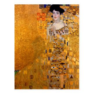 De Wijnoogst van het Portret van Gustav Klimt Briefkaart
