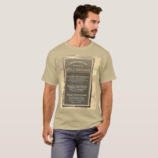 De Wijnoogst van het Teken van het Bericht van de T Shirt