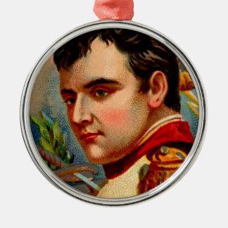 De Wijnoogst van Napoleon Zilverkleurig Rond Ornament