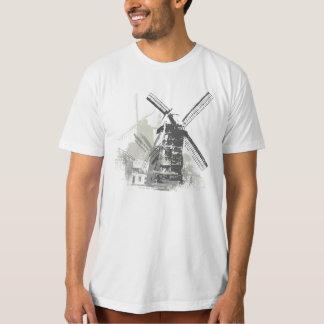 De wijnoogst Verontruste T-shirt van de Molen van