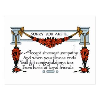 De wijnoogst wordt goed spoedig briefkaart