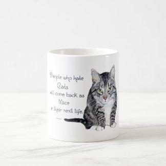 De Wijsheid van de kat - Mensen die Katten haten Koffiemok