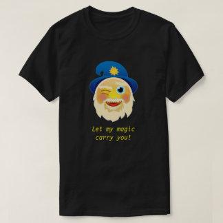 De wijze T-shirt van Emoji van de Tovenaar