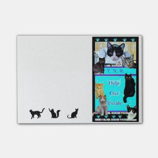 De Wilde Katten van de hulp - TNR - Post-its Post-it® Notes