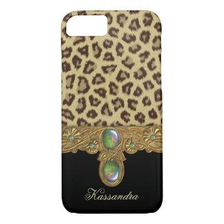 De wilde Luipaard van de Elegantie iPhone 8/7 Hoesje