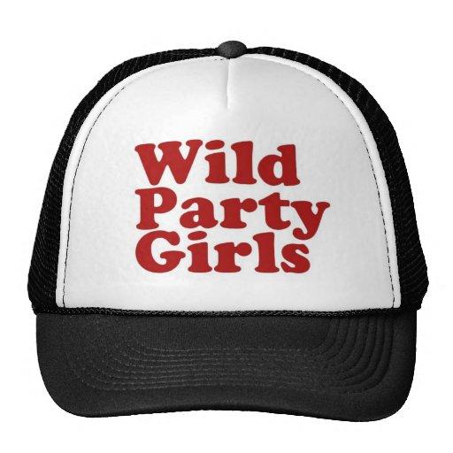 De wilde Meisjes van de Partij Pet Met Netje