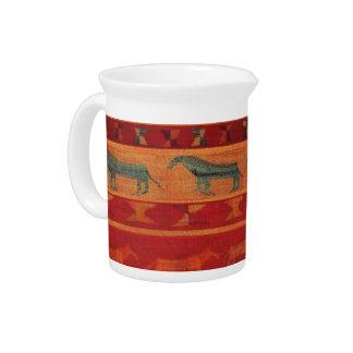 De wilde Mustangen van de Zigeuner Drink Pitcher