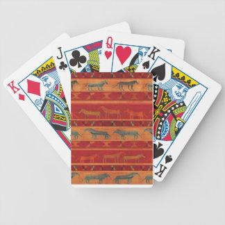 De wilde Mustangen van de Zigeuner Poker Kaarten