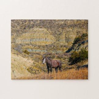 De Wilde Paarden van de mustang Legpuzzel