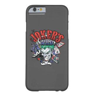 De wildernis van de Joker Barely There iPhone 6 Hoesje