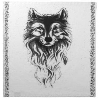 De wildernis van de wolf servet