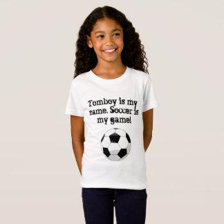 De wildzang is mijn naam. Het voetbal is mijn spel T Shirt
