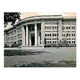 De wilkes-Staaf van de Middelbare school van Myers Briefkaart