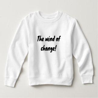 de wind van verandering! kinder fleece