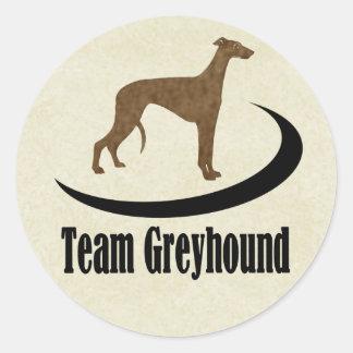 De Windhond van het team Ronde Sticker