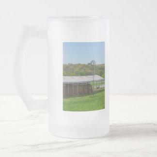 De Windmolen van het land Matglas Bierpul