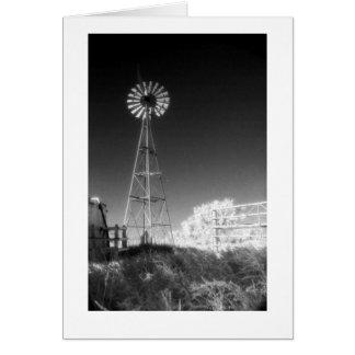 """De """"windmolen van Texas """" Wenskaart"""