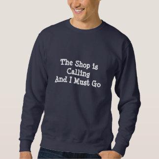 De winkel roept - Donker Sweatshirt