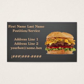 De Winkel van de hamburger Visitekaartjes