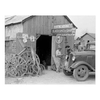 De Winkel van de smid, 1939 Briefkaart