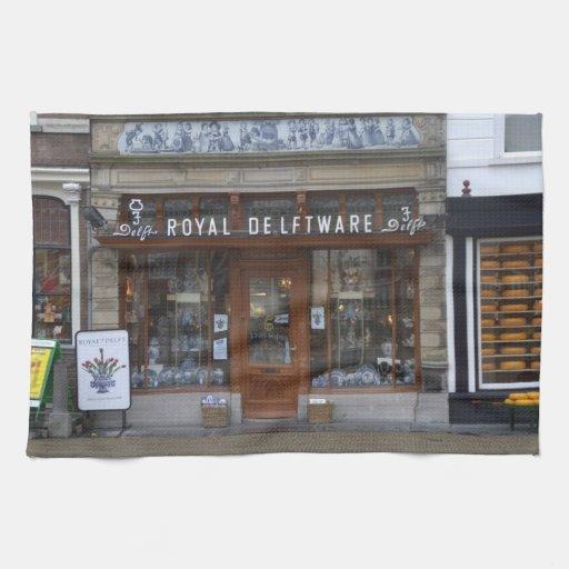 Delfts Blauw Keuken : De winkel van het Delfts blauw in Delft Keuken Handdoek Zazzle
