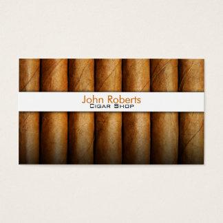 De winkelvisitekaartje van de sigaar visitekaartjes