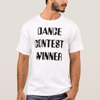 De Winnaar van de Wedstrijd van de dans T Shirt