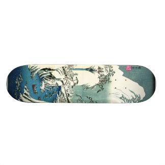 De Winter 1830 van de Rivier van Fuji Skateboard Deck