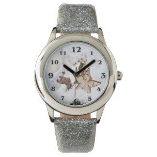 de winter motief 07 horloge