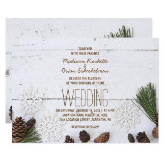 De winter Pinecone en de Kaart van het Huwelijk