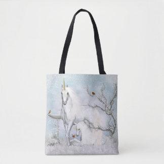De winter Robins en Eenhoorns helemaal over - het Draagtas
