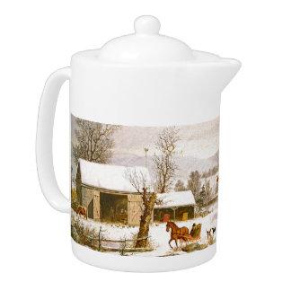 De Winter van de Ar van het Paard van de Sneeuw