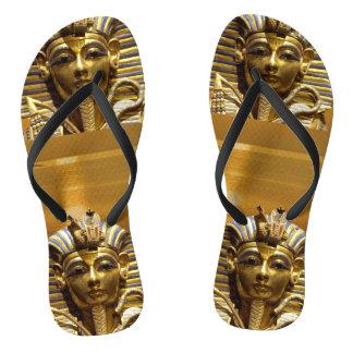 De Wipschakelaars van Tut van de Koning van Egypte Teenslippers