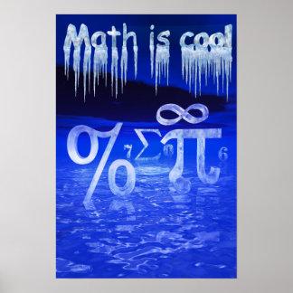 De wiskunde is Koel! Poster