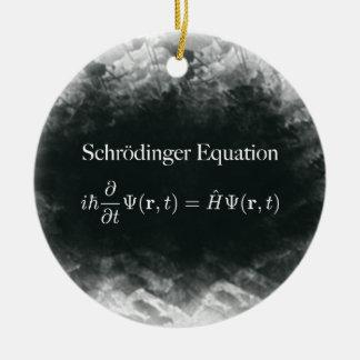 De Wiskunde van de Vergelijking van Schrödinger & Rond Keramisch Ornament