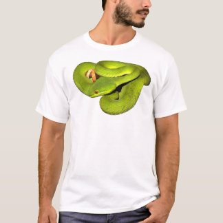 De wit-lipped kuiladder t shirt