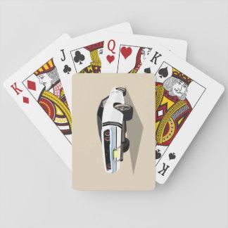 De witte '68 Speelkaarten van de Lader