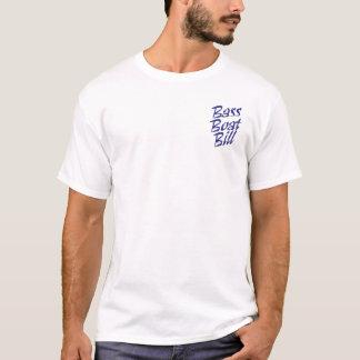 De witte BasRekening van de Boot T Shirt