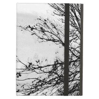 De witte bosdekking van de ipadlucht door Jane iPad Air Hoesje