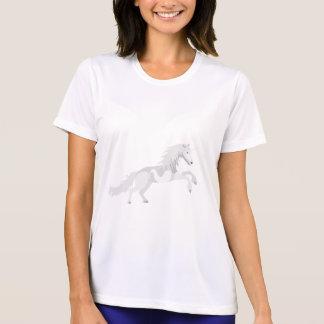 De Witte Eenhoorn van de illustratie T Shirt