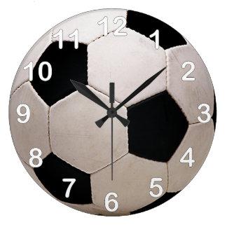 De witte en Zwarte Bal van het Voetbal Grote Klok