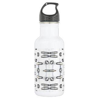 De witte Fles van het Water van Schaduwen