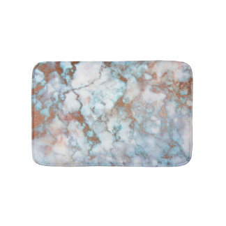 De witte Grijze Blauwe Marmeren Bruine Steen Badmat