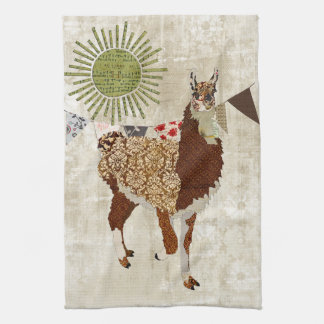 De Witte Handdoek van de Zonneschijn van de lama